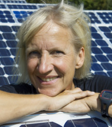 Dr. Eva Stegen von den Elektrizitätswerken Schönau (EWS)